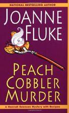 Peach Cobbler Murder (A Hannah Swensen Mystery) by Fluke, Joanne Paperback Book