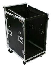 OSP MC12U-16SL 16 Space ATA Mixer/Amp Rack 12 Space Depth and Standing Lid