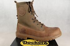 Dockers Damen Stiefel Boots Winterstiefel khaki Echtleder NEU