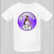 Ariana Grande Tshirt personalized birthday shirt, girls birthday shirt