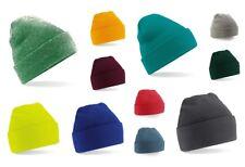Beechfield - Cuffed Beanie Wintermütze Strickmütze Mütze Cap Knitted Hat B45 NEU