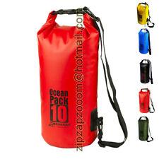 Karana Ocean Dry Travel Pack Waterproof Kayak Shoulder Money Bag 10L 10 Litre