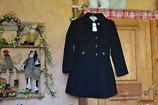 manteaux neuf noir classique repetto 8 ans 70% laine 160 euros