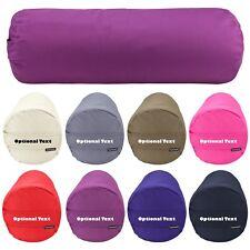 Personalised Buckwheat Organic Natural Yoga Meditation Bolster Cushion Pillow