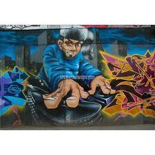 Pegatinas de pared decoración : Graffitis Tag DJ 1565
