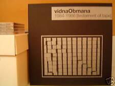 VIDNA OBMANA 1984-1986 [Testament Of Tape] 3xLP Box/Noise/Esplendor Geometrico