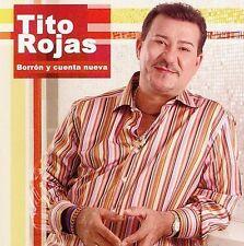 FREE US SH (int'l sh=$0-$3) ~LikeNew CD Tito Rojas: Borron Y Cuenta Nueva