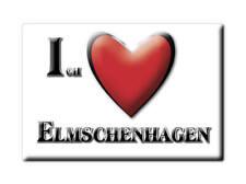 DEUTSCHLAND SOUVENIR - SCHLESWIG HOLSTEIN MAGNET ELMSCHENHAGEN (KIEL)