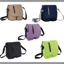 Shoulder bag - Multi-pocket - 4 colors options. Cross body strap.