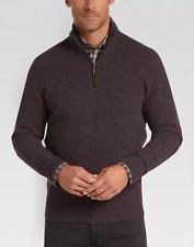 Joseph Abboud Limited Edition Black 1/4 Zip Mock Neck Cashmere Sweater