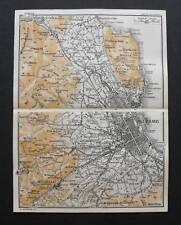 Antica Stampa=Topografica=PALERMO PA=Scala1:80000-1909