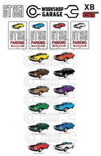 Parking Sign - Metal - Ford XB GT 351 V8 - COUPE