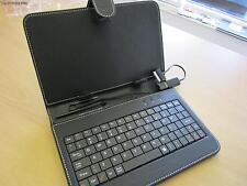 "NERO 7 ""Tastiera PU Pelle Custodia / Supporto per Samsung Galaxy Tab / TAB2 7"" Tablet"