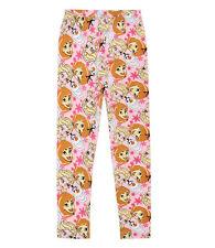 Niños Niñas Polainas Leggings Pantalones deportivos Frozen Multicolor 104 110