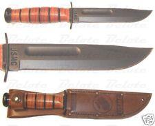 Ka-Bar KaBar Knives Short USMC KA-BAR Straight Edge 1250 NEW