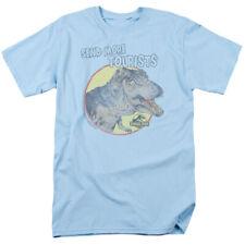 Jurassic Park Movie T-Rex Tyrannosaurus Send More Tourists Tee Shirt Adult S-3XL