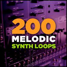 200 melodic synth Loops EDM IDM Ableton Live Logic fl studio cubase GarageBand
