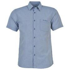 ✔ PIERRE CARDIN Herren kurzarm Hemd Blau Weiß gepunktet Polo T-Shirt Herrenhemd