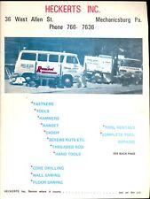 Vintage Heckert's Inc Tool Catalog Mechanicsburg Pa