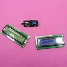 IIC/I2C Serial Adapter Module With LCD 1602 Display Blue or Green Screen Arduino