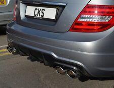 Mercedes W204 C Class C200 C250 C350 C63 Carbon fibre fiber diffuser FACELIFT