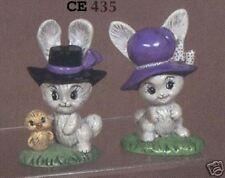 """New #435 Ceramic  Emporium Mold """"Rabbits"""" - LAST ONE"""