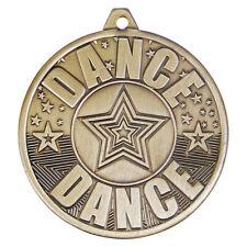 Paillettes étoile rose danse 50 mm médaille-Gravure Gratuite Ruban /& ukp/&p Moderne Tap