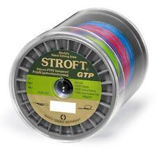 Ligne de pêche stroft GTP Type R tressé 1000m multicolore Fil