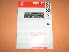 Betriebsanleitung Philips DC 405 Cassette Receiver