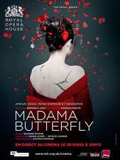 MADAMA BUTTERFLY Affiche Cinéma Movie Poster OPERA HOUSE
