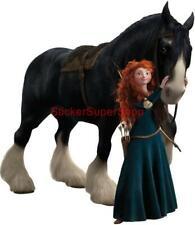 Choose Size - BRAVE MERIDA & AGNUS Disney Decal Removable WALL STICKER Decor