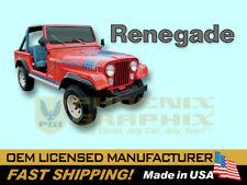 1979 1980 Jeep Renegade CJ5 CJ7 Decals & Stripes Kit
