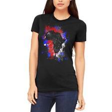 African American Splatter Juniors Soft T Shirt