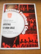 04/11/1970 Arsenal v Sturm Graz [Inter Cities Fairs Cup