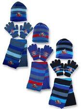 Chicos Niños Marvel Avengers Gorro invierno guantes y Pañuelo Juego 3 unidades