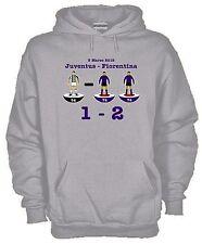 Felpa Sport hoodie KJ616 Stadium Juventus-Fiorentina 5 marzo 2015 1-2 Subbuteo