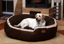 tierlando LANA lit pour chien canapé M L XL VELOURS Mega Dick 80 100 120cm doux