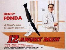 12 Angry Men 1957 Movie Poster Print A0-A1-A2-A3-A4-A5-A6-MAXI 740