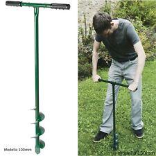 trivella a mano per buchi terreno pali albero 100 150 mm perforatore manuale