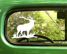 2 ELK DECAL Stickers For Car Window Truck Bumper Laptop Jeep RV