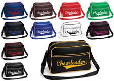 Cheerleader Tasche Aufdruck versch. Farben Sport Trainingstasche Cheerleading