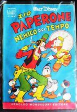 ALBO D'ORO 1955 N°  4 - ZIO PAPERONE NEMICO DEL TEMPO - MOLTO BUONO