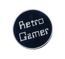 1 x Geek Retro Gamer Sew 'n' Iron On Patch Motif