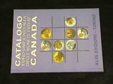 CATALOGO ALFA tutte le MONETE del CANADA oro argento AU AG PL e ALTRI METALLI
