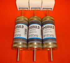 3 Lot New Gould Shawmut Fuse RF150 Renewable 250 Volt RF-150 REN150 REN-150