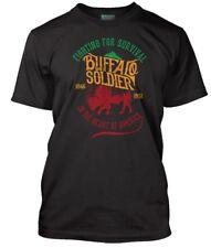 BOB MARLEY inspired BUFFALO SOLDIER, Men's T-Shirt