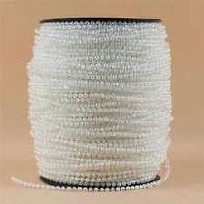 3mm Pearl Garland Strand String for Wedding Bridal Corsages Candelabra Decor New