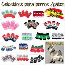 4 calcetines antideslizantes perro  -19 modelos S, M, L, XL- Superman Spiderman