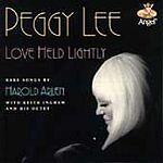 CD: PEGGY LEE - Love Held Lightly
