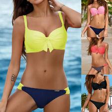 Women Bandage Bikini Set Push-Up Brazilian Swimwear Beachwear Swimsuit Hot DA